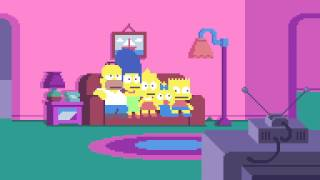getlinkyoutube.com-SIMPSONS PIXELS