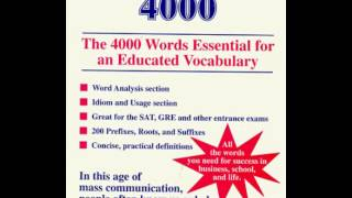 getlinkyoutube.com-English Vocabulary of 4999 words Vol.1 (use cc to translate captions to difference language)