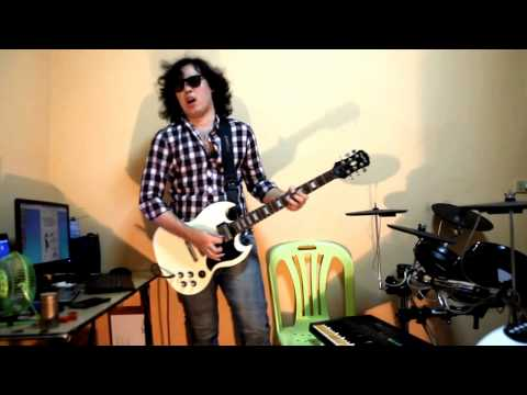 Jack Thammarat - Intro xxx(2)(Guitar Cover by Chek The Metal)(From VDO How To Play Rock Guitar)