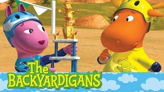 getlinkyoutube.com-The Backyardigans: The Magic Skateboard - Ep.75