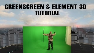 getlinkyoutube.com-Greenscreen & Element 3D (After Effects Tutorial)