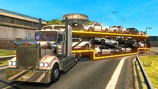 getlinkyoutube.com-Australia | Kenworth T908 con autos VW