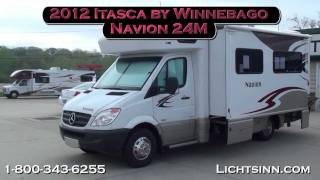 getlinkyoutube.com-Lichtsinn.com - 2012 Itasca Navion 24M Motor Home Class C - Diesel
