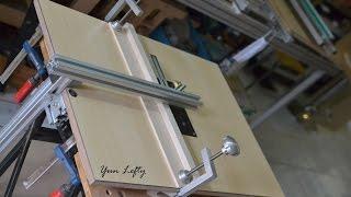 DIY งานไม้ BY Yun Lefty =สร้างโต๊ะเลื่อยจิ๊กซอว์=(build a jig saw table)