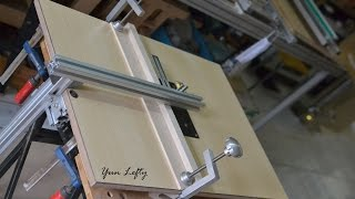 getlinkyoutube.com-DIY งานไม้ BY Yun Lefty =สร้างโต๊ะเลื่อยจิ๊กซอว์=(build a jig saw table)