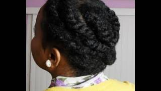 getlinkyoutube.com-Flat Twist Protective Hairstyle on Natural Hair - SimplYounique