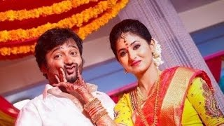 getlinkyoutube.com-Bobby Simha and Reshmi Menon's Engagement | Siddharth, SJ Surya