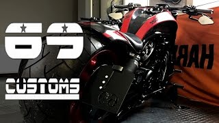 "getlinkyoutube.com-Harley-Davidson Night Rod ""Candy"" by 69 Customs"