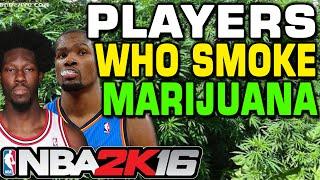 getlinkyoutube.com-NBA 2K16 Players who smoke Marijuana
