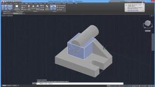 getlinkyoutube.com-Beginner Tutorial 5 - Autodesk AutoCad 2016 - Designing Isometric Objects Part 2