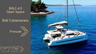 getlinkyoutube.com-BALI 4.5 Open Space Catamaran: Vidéo de Visite Guidée (Français)