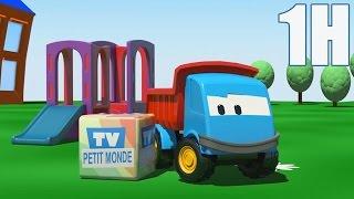 getlinkyoutube.com-1 heure de Léo le camion benne curieux - Compilation #1 HD   Dessins animés en francais