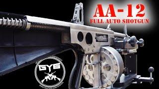 getlinkyoutube.com-AA-12 Fully Automatic Shotgun--NEVER BEFORE SEEN LIKE THIS!
