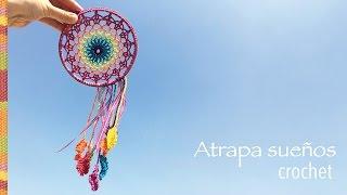 Crochet paso a paso: atrapa sueños arcoíris!