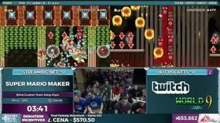 getlinkyoutube.com-Super Mario Maker, Team Streambig.net vs. Team Hot Pockets in 1:20:00 - SGDQ 2016 - Part 157