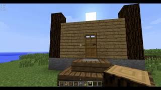 getlinkyoutube.com-Как сделать из коробки красивый дом в minecraft