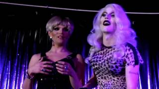 getlinkyoutube.com-Sharon Needles Q&A with Willam Belli at Cattivo