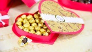 getlinkyoutube.com-How to Make a Doll Box of Chocolates - Doll Crafts