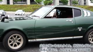 getlinkyoutube.com-トヨタ セリカ  リフトバック  2000GT  RA25 18RG 昭和50  旧車 かもがた