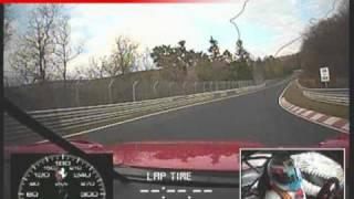 Ferrari 599XX on the Nürburgring