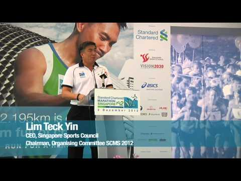 Standard Chartered Marathon Singapore 2012 Event Launch Highlights