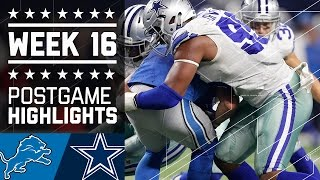 flushyoutube.com-Lions vs. Cowboys | NFL Week 16 Game Highlights