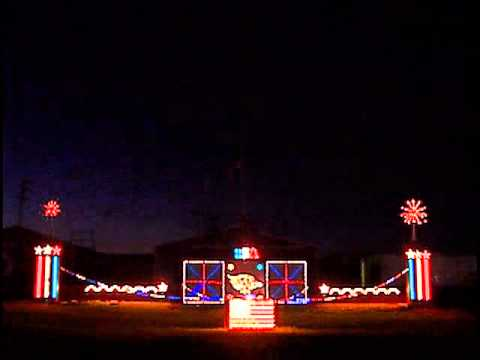 Patriotic Light Show 2011.wmv
