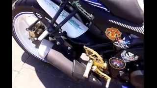 getlinkyoutube.com-Knalpot R25 dipasang di R15