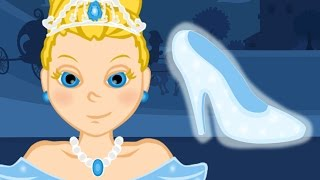 Cinderella story time - Cartoon fairy tales bedtime stories for kids - American English