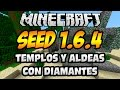 "Seed para Minecraft 1.6.2 ""6 Diamantes y un Nether Troll"""