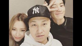 getlinkyoutube.com-Chanyeol EXO and SNSD Tiffany Pose Together Rapper 'Unpretty Rapstar 2'