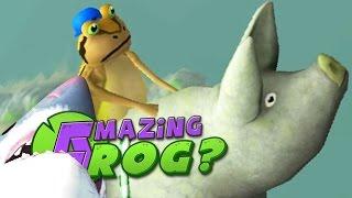 getlinkyoutube.com-JOURNEY TO THE EDGE OF THE WORLD - Amazing Frog - Part 73 | Pungence