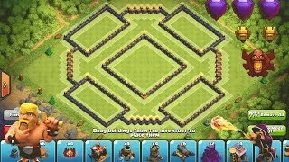 getlinkyoutube.com-Clash of Clans - Epic TH10 Trophy/ClanWar Base--Strong Fortress--➞Speed Build + Replay