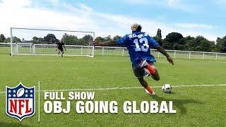 getlinkyoutube.com-Odell Beckham Jr. the Global Icon | OBJ Going Global ✈️🏈🌎 (Full Show) | NFL360