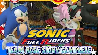 getlinkyoutube.com-Sonic Free Riders - Team Rose Story COMPLETE w/Bodycam