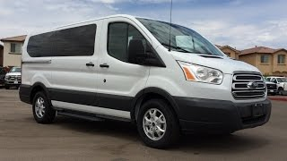getlinkyoutube.com-2015 Ford Transit T-150 8-Passenger Wagon Walkaround