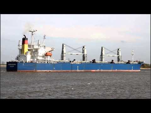 Click to view video LIANHUAHAI - IMO 9209207 - Germany - Weser - Brake Unterweser