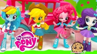 getlinkyoutube.com-My Little Pony Equestria Girls Minis Dolls MLP Rainbow Dash, Twilight - Cookieswirlc Toy Video