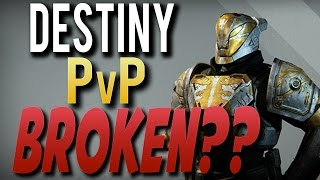 Destiny Iron Banner PvP Fails & Is Destiny Crucible Multiplayer Broken or Unbalanced?
