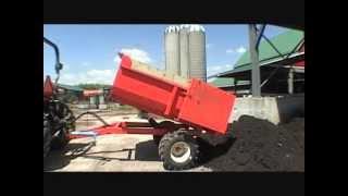 getlinkyoutube.com-2 Ton Farm Dump Trailer