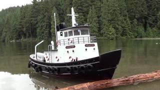 getlinkyoutube.com-Maiden voyage RC  Tug boat!!!
