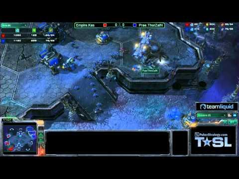 Game 1 - Prae.ThorZaIN vs Empire.Kas - TSL3 Semi-Final Match 1