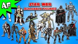 getlinkyoutube.com-Every Lego Star Wars BUILDABLE FIGURE Set - Complete Collection!