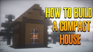 getlinkyoutube.com-Minecraft Build Tutorial: How To Build A Compact House