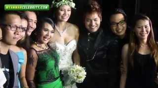 getlinkyoutube.com-Phone Thike & Chan Chan's Wedding Reception