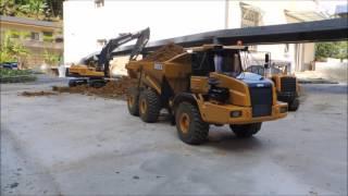 getlinkyoutube.com-105 -12-4 北工聚會-VOLVO EC480DL新機開挖
