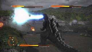 getlinkyoutube.com-GODZILLA THE GAME: Godzilla, Anguirus and Gigan VS mode (PS4) online gameplay