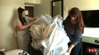 getlinkyoutube.com-Putting on This Gypsy Wedding Dress Is Too Hard | My Big Fat American Gypsy Wedding