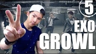 getlinkyoutube.com-EXO - Growl | Step By Step Dance Tutorial Ep.5