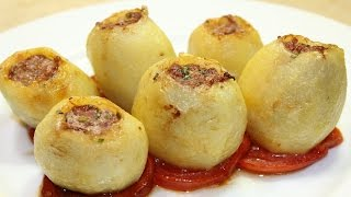 getlinkyoutube.com-طريقة عمل محشي البطاطس باللحمة المفرومة - Stuffed Potato